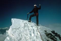 My grandpa climbing the Matterhorn (MadDogMadsy) Tags: mountain snow switzerland mountainclimbing matterhorn