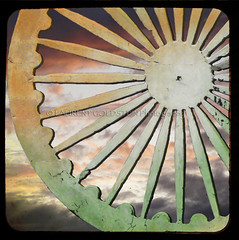 Happy Independence Day (designldg) Tags: sunset sky orange india white green heritage love wheel dedication mystery square photography freedom colours peace emotion symbol culture atmosphere pride panasonic soul ethereal devotion punjab shanti independance contrejour chandigarh  jaihind indiasong krishlikesit dmcfz18