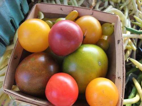 Heirloom Tomatoes from Combs Herbs
