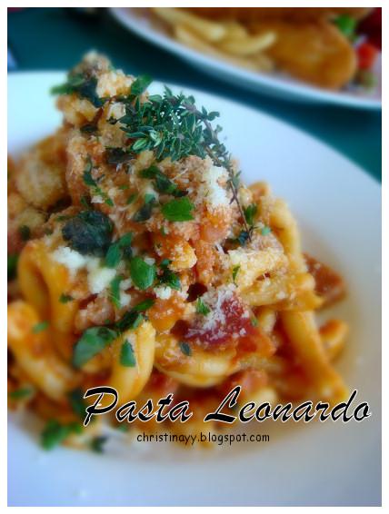Angelo's House Restaurant: Pasta Leonardo