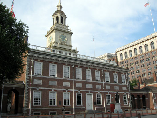 Independence Hall (Click to enlarge)