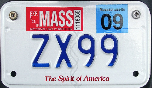 """zx99 experience: snagged the"""" highest"""" low digit massachusetts"""