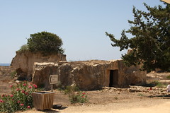 Tombs of the Kings Ancient Greek burial site (Robert R&N) Tags: greek site ancient cyprus kings burial tombs paphos tombsofthekings 300bc