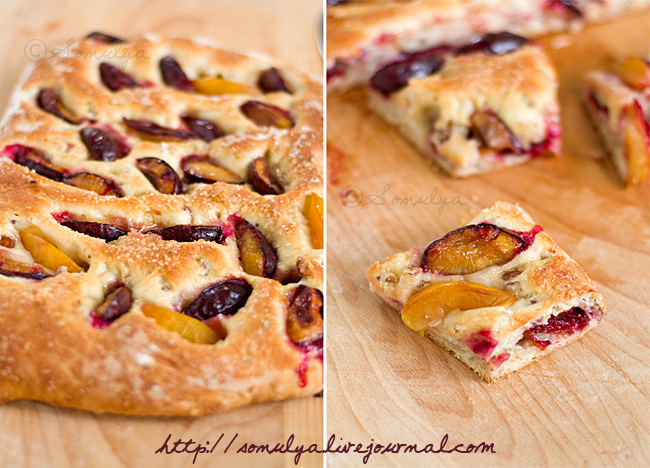 Sweet Plum Bread Diptych