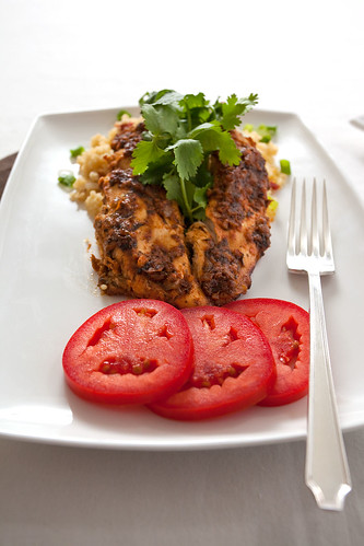 Moroccan Chicken Breast & Couscous