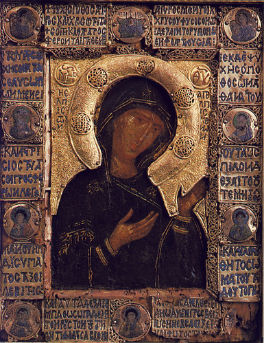 icône byzantine du XIIe siècle