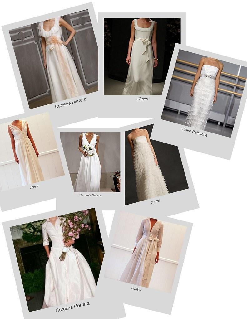 sample gown wedding