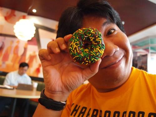 2009 UAAP Final Four Krispy Kreme Doughnut