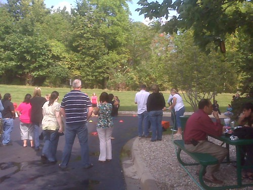 Quicken Loans Security Team has a BBQ to benefit ALS