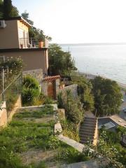 View from partway up cliff (stevenfeuerstein) Tags: slovenia piran adriatic portoroz pirano