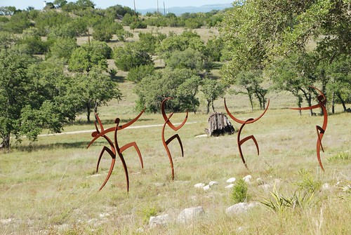 Sculpture Garden Dancers 1