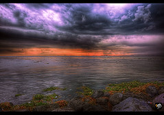 The Wrath Of Ondoy [ Please Read ] ([ Rodelicious ]) Tags: ocean travel blue light sunset sea vacation sky plants sun plant seascape storm color colour art beach nature beautiful beauty smile rain clouds contrast photoshop canon landscape geotagge