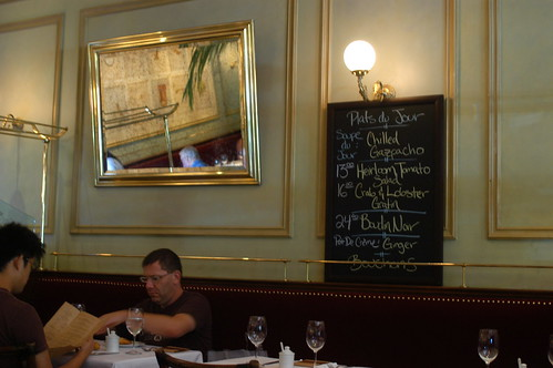 lunch at Bouchon