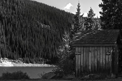 Men & Women (D.G.Flickr) Tags: trees bw lake men clouds bathroom mix women filter restroom ng cokin platoro hollumsphotographynikond90 outhousehollumsphotographynikond90