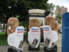 Mobile Potato Costume/Mascot and Wrapped Segway Marketing/Advertising/Promotion Effort for US Cellular from Massivemedia (Massivemedia) Tags: original fun idea unique branded creative segway concept brand technique strategy branding guerrilla uscellular guerillamarketing strategies guerrillaadvertising outofhomeadvertising guerrillamarketing outdooradvertising ambientadvertising outdoorevents massivemedia outofhomemarketing nontraditionalmarketing segwaymarketing costumemarketing brandedshield wrappedsegway mobilepotato outdoorpromotions experientialadvertising