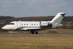 G-OCSE - Ocean Sky - Canadair CL-600-2B16 Challenger 605 - Luton - 090302 - Steven Gray - IMG_0141