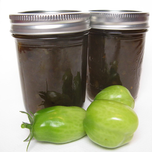 First Frost Green Tomato Jam