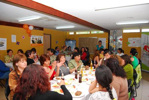 Almuerzo Programa Mujeres Jefas de Hogar