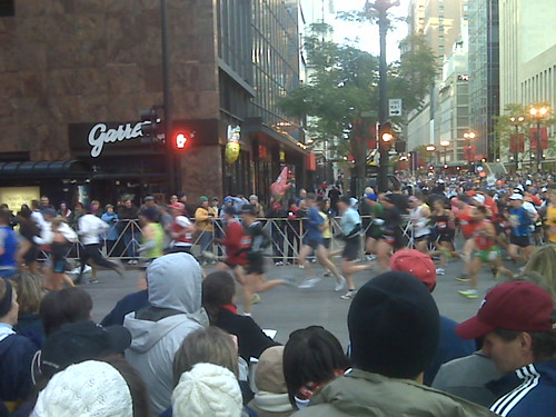 2nd Mile Marker Chicago Marathon @garrettpopcorn