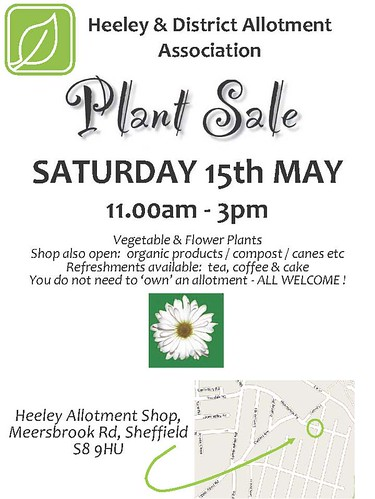 Plant Sale 15 May 2010
