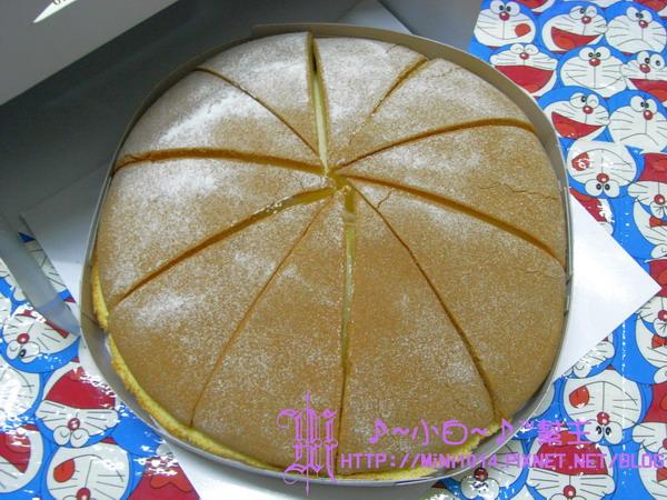 原味鮮奶油波士頓蛋糕