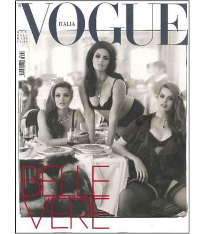 Capa Vogue Itália Steven Meisel©