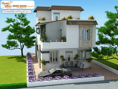 5 Bedrooms Triplex House Design (ApnaGharhd) Tags: house design 5 triplex bedrooms
