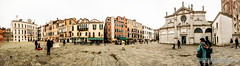 Venice square panorama (Chris B70D) Tags: city trip travel chris venice sky people urban italy panorama sun distortion colour history texture glass weather stone architecture clouds photoshop canon buildings tile landscape photography construction scenery long raw arch view place dynamic image weekend north dramatic atmosphere 360 scene location historic verona seeing stitching classical photomerge editing sight febuary degree vicenza padova neutral 70d berridge