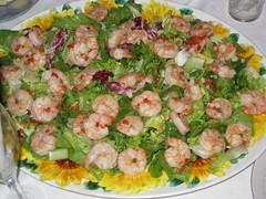 Фото салат с креветками