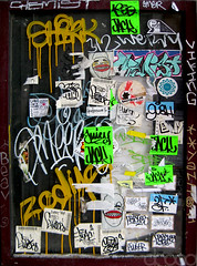 Stickers n' Mops (DR000) Tags: chicago ink jack juicy rad stickers drips zodiac yani emer viking goons 3f gush beav 312 mops chemist shirk smeer ewae justchicagoart