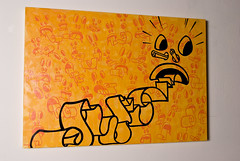 talking drugs (darko_caramello) Tags: urban art kunst galerie halb darko acht caramello