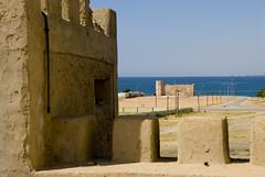 Oman Mirbat369 (jjay69) Tags: ocean sea town village gulf muslim islam middleeast arabic east middle oman turrets hamlet gcc islamic arabi sultanateofoman dhofar mirbat dhofarregion muslimcountry mirbatcastle mirbatfort sasbattle battleofmirbat marbat