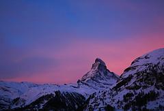 ^ (yogurt nature) Tags: morning mountain snow switzerland d70s zermatt matterhorn