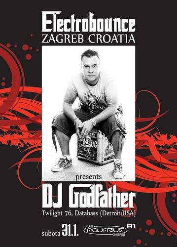 Godfather Detroit techno Aquarius Zagreb