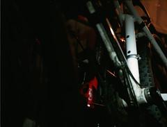 Fuhrpark Close up (skinner08) Tags: light colour 6x6 rolleiflex t fuji farbe fahrrad kiel available 100asa fuhrpark