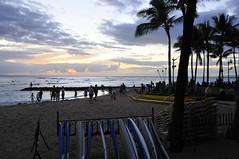 Honolulu (3) (AAron Metcalfe) Tags: sunset oahu honolulu waikikibeach