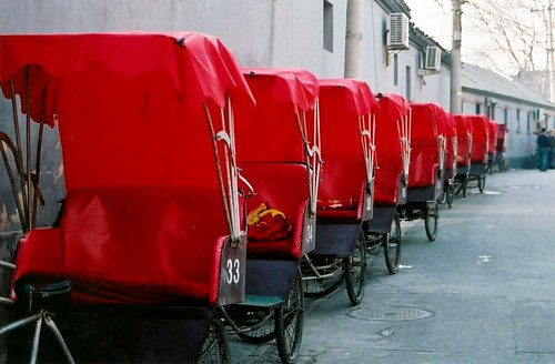Rickshaws by you.