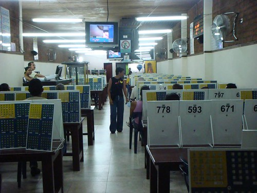 Bingo hall. Zarzal, Colombia.