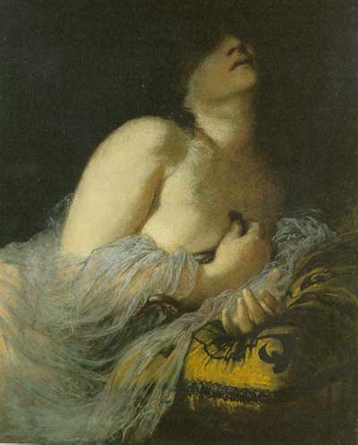 Dying Cleopatra by Boecklin by you.