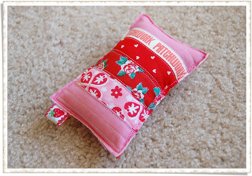 pincushion - very pink