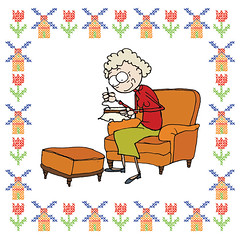 Borduren (betje.com) Tags: illustration illustratie borduren embroiderie
