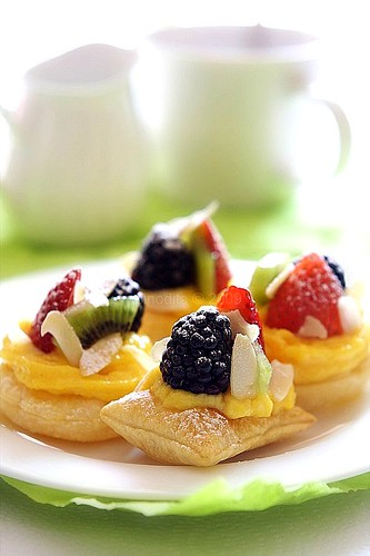 fruits pastry