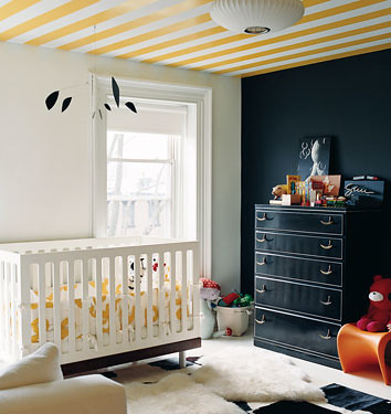 Nursery Inspiration: Black and yellow