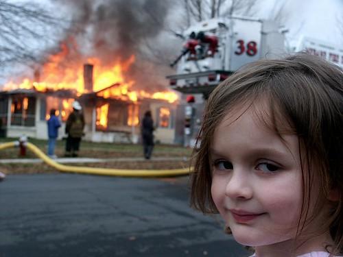 Child & fire