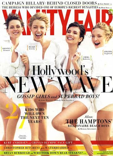 Blake Lively, Kristen Stewart, Emma Roberts and Amanda Seyfried - Vanity