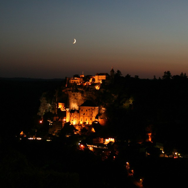 Rocamadour by night by JHK images