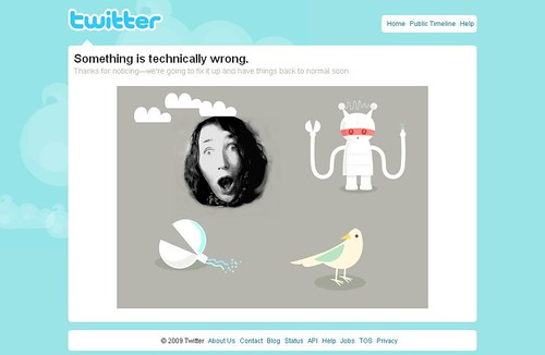 OMGTWITTERISDOWN!!! by The Infatuated.