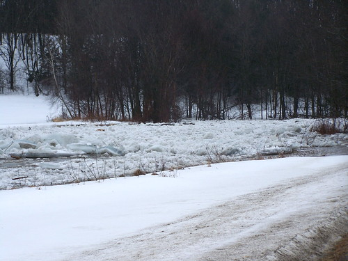 Ice Jam on Missisquoi River - 02 by you.
