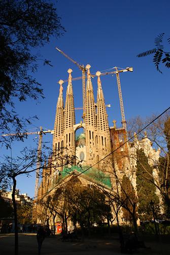 Atracción turística en Barcelona