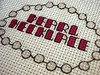 Pearl Necklace (Stitch Out Loud) Tags: pink necklace crossstitch craft pearl stitchoutloud